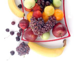 frutta su piatto xs