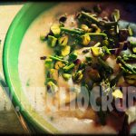 Crema di riso con asparagi