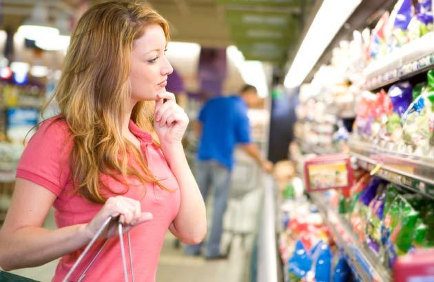 Scelta consapevole al supermercato