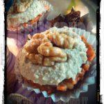 Carrot cupcakes crudiste