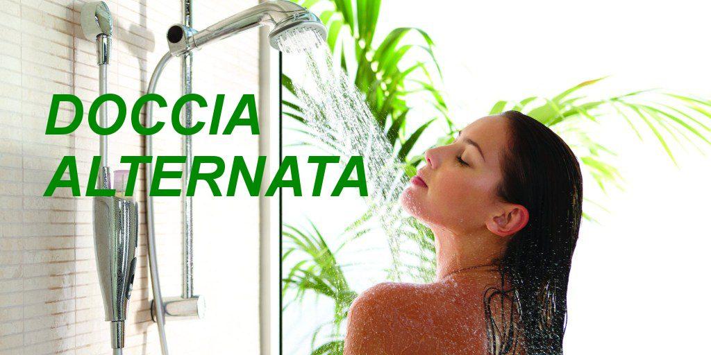 aiutare la disintossicazione - doccia alternata